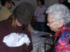 Aunt Kristen and Great-Grandma Cordova