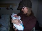 With Aunt Kristen