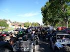 ATV Pre-parade lineup - over 430 bikes