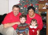 Grandpa, Grandma, J.R. & Libby - Christmas 2004