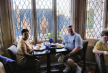 Our window seat at Cinderella's Breakfast