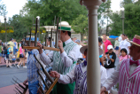 The Dapper Dans play their hand chimes - Beautiful sound!