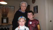 Halloween with Little Grandma - 2008