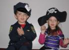 Halloween 2006 - Policeman and Pirate Princess