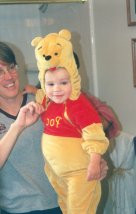 Connor as Pooh #3 - October 1999