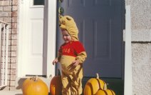 Connor as Pooh #4 - October 1999