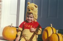 Connor as Pooh #5 - October 1999
