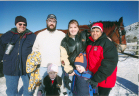 (l to r) Rich, Andy, Libby, Jenn, J.R., & Anita - Hardware Ranch - 02-11-06