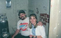 Jenn and Andy - January 2000 - Metro Jail