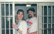 Jenn and Andy - January 2000 - Metro Jail Cell 3A13