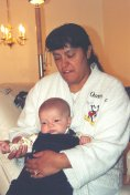J.R. and Grandma Anita - 12-12-01