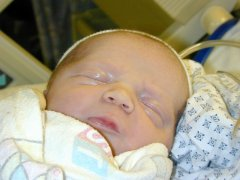 James Richard Reeser - October 9th, 2001 at 1313 hours - 21.5 inches, 8 lbs 10 oz
