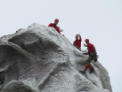 Their actual job - climb the Matterhorn every day!