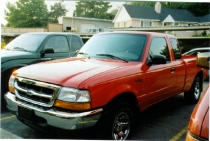 Rob Gets A New Truck - July 29th, 2000