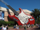 Anita's favorite ride - Aerosmith's Rock 'N Roller roller coaster