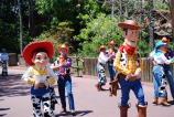 Woody's Roundup cast comin' round the bend