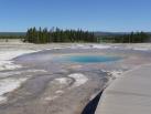 Pool in the Geyser Basin
